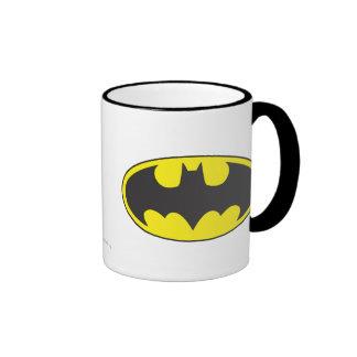 Ovale de logo de batte de Batman Mug Ringer