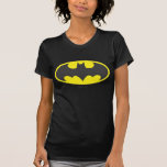 Ovale de logo de batte de Batman T-shirts