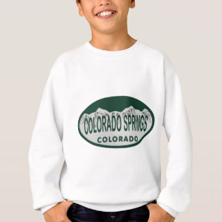 Ovale de permis de Colo Spgs Sweatshirt