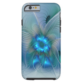 Ovations debout, art abstrait de fractale coque iPhone 6 tough
