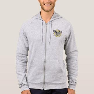 owl inspiration veste à capuche