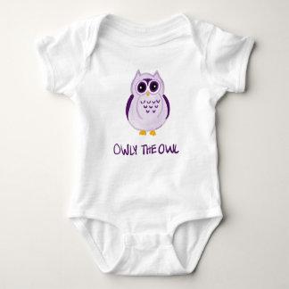 Owly le hibou - combinaison de bébé body