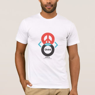 """Owni """"News Augmented"""" 3"""" T-shirt"""