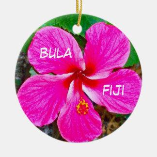 P0000104_lzn, bula, Fiji Ornement Rond En Céramique
