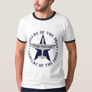 p51 cadillac of the skies #2 t-shirts