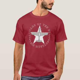 p51 cadillac of the skies #6 t-shirt