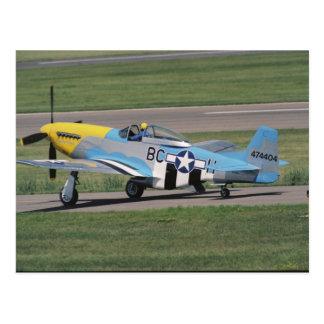 P-51 nord-américain D brillant Donna sur Carte Postale