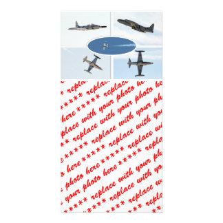 P-80 ensemble d avion de l étoile filante 5 modèle pour photocarte