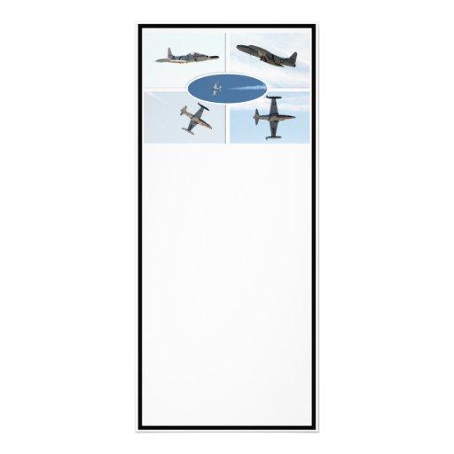 P-80 ensemble d'avion de l'étoile filante 5 modèle de carte double