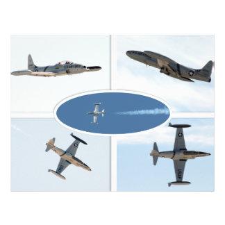 P-80 ensemble d'avion de l'étoile filante 5 prospectus en couleur