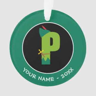P est pour Peter Pan que   ajoutent votre nom