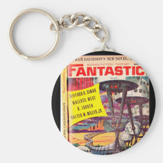 _P fantastique de v15 n05 (1966-05.Ultimate) Porte-clé Rond