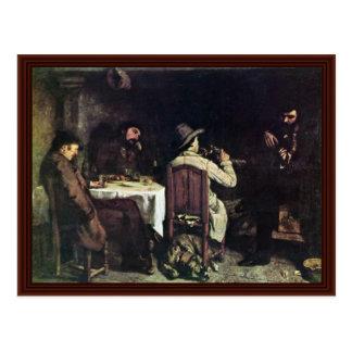 P.M. allemand chez Ornans (Une Après-Dinent à Carte Postale