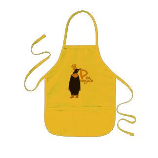 P pour le pingouin tablier enfant