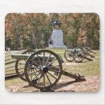 PA de Gettysburg de canons de champ de bataille Tapis De Souris