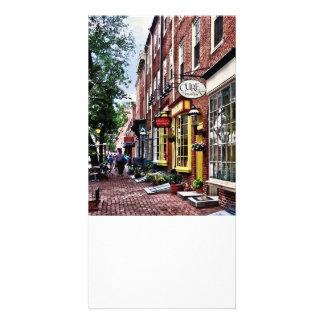 PA de Philadelphie - Rue de S 2ème Cartes De Vœux Avec Photo