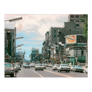 PA de Scranton. Avenue du Wyoming. Carte postale