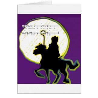 paard op de sinterklaas carte de vœux