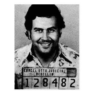 Pablo Emilio Escobar Carte Postale