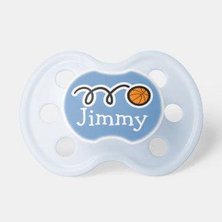 Pacifer de basket-ball avec binky factice du nom   sucette pour bébé