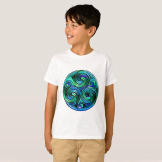 Pacifique ondule le T-shirt de l'enfant