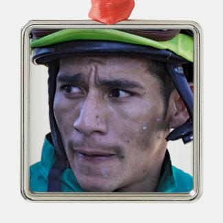 Paco Lopez chez Parx Ornement Carré Argenté