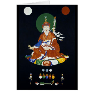 Padmasambhava [carte] cartes