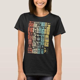 PAGA à la mode étiquette le T-shirt