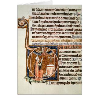 Page lumineuse carte de vœux