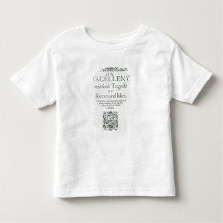 Page titre de 'Romeo et de Juliet T-shirt Pour Les Tous Petits