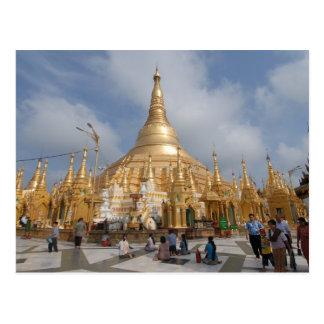 Pagoda de Shwe Dagon Carte Postale