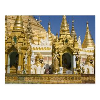 Pagoda de Shwedagon (Paya), grand site de temple Carte Postale