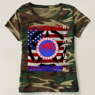 Païen américain--Armée T-shirt