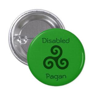 Païen handicapé badge