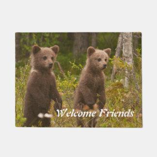 Paillasson accueil d'ours de bébé