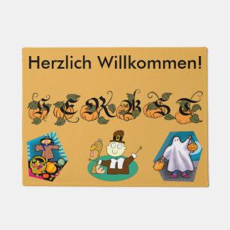 Paillasson allemand d'automne (automne)