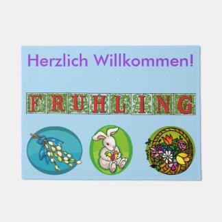 Paillasson allemand de ressort