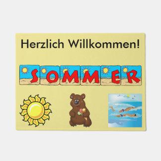 Paillasson allemand d'été