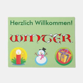 Paillasson allemand d'hiver