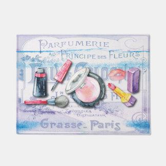 Paillasson Aquarelle de parfum de cosmétiques de maquillage