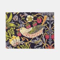 Art floral Nouveau de voleur de fraise de William