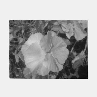 Paillasson Belle fleur blanche