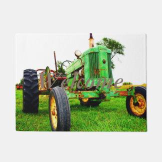 paillasson de tracteur