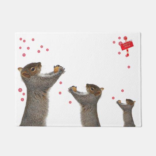paillasson  écureuil