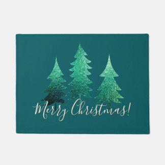 Paillasson Joyeux Noël impeccable ombragé