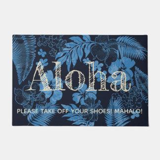 Paillasson Kona chronomètre la marine de Hawaïen de ketmie