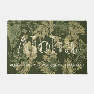 Paillasson Kona chronomètre le vert olive de Hawaïen de