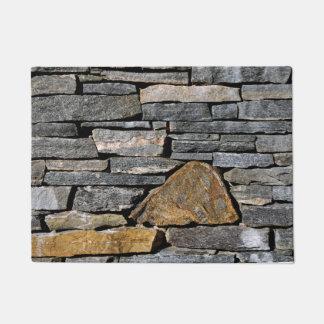 Paillasson Mur en pierre