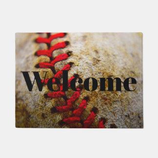 Paillasson Natte d'accueil d'image de base-ball