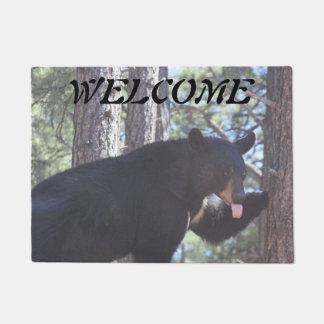 Paillasson Natte d'ours noir
